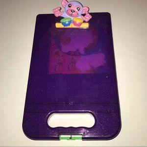 Lisa Frank Purple Monkey Clipboard Case